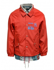 Kolor red jacket with floral print
