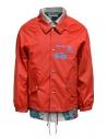 Kolor giacca rossa con stampa a fiorishop online giubbini uomo