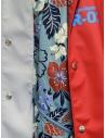 Kolor giacca rossa con stampa a fiori prezzo 20SCM-G05112 REDshop online
