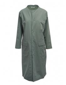 Cappotti donna online: Plantation impermeabile verde salvia