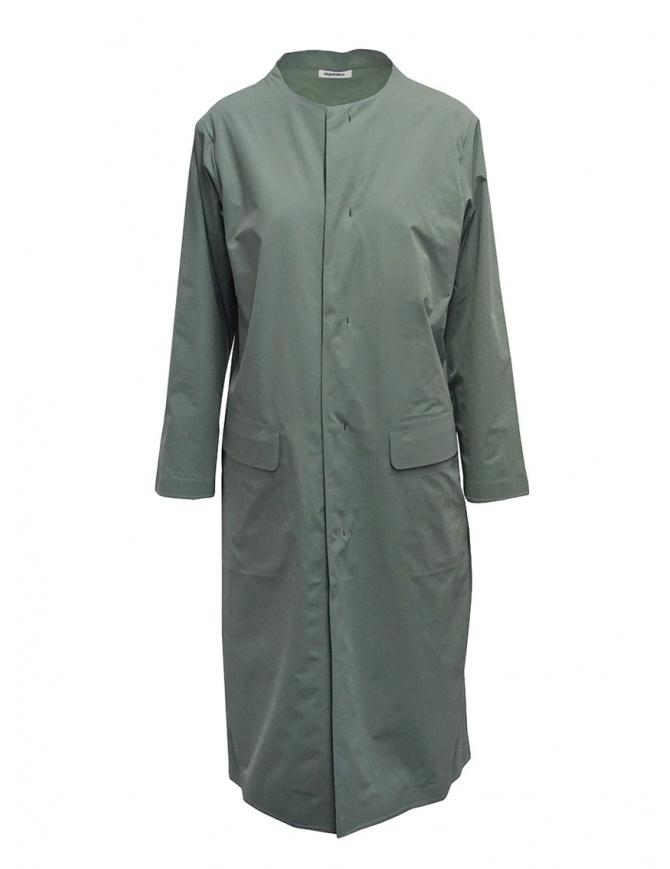 Plantation impermeabile verde salvia PL07FA001-09 GREEN cappotti donna online shopping