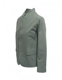 Plantation giacca con collo alla coreana verde salvia