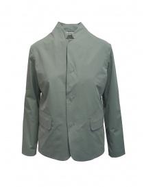 Plantation giacca con collo alla coreana verde salvia PL07FD002-09 GREEN order online