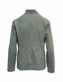 Plantation Mandarin collar jacket in sage green price
