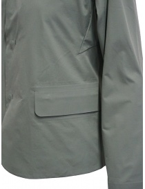 Plantation Mandarin collar jacket in sage green womens jackets buy online