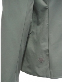Plantation Mandarin collar jacket in sage green womens jackets price