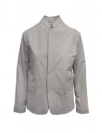 Plantation giacca con colletto alla coreana beige online