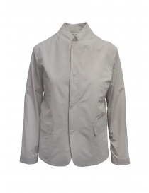 Plantation Mandarin collar jacket in beige online