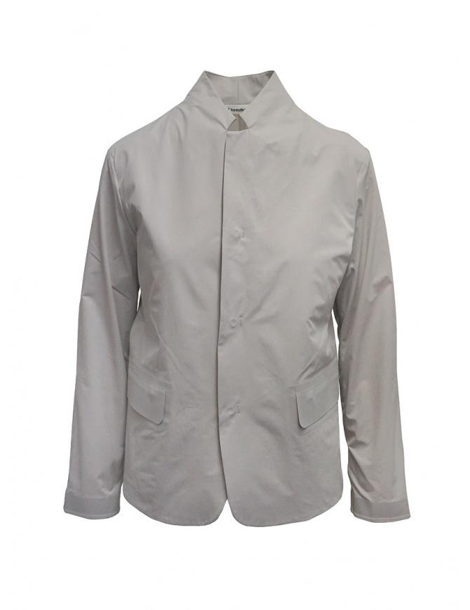 Plantation Mandarin collar jacket in beige PL07FD002-03 BEIGE womens jackets online shopping