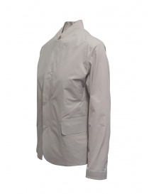 Plantation Mandarin collar jacket in beige