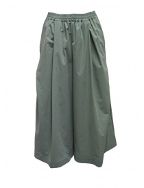 Plantation sage green cropped trousers online