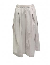 Plantation pantaloni cropped larghi beige online