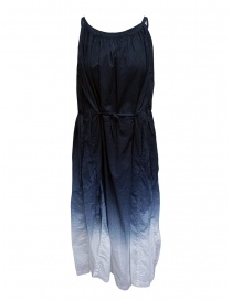 Womens dresses online: Plantation blue gradient long dress