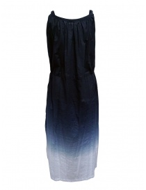 Plantation blue gradient long dress