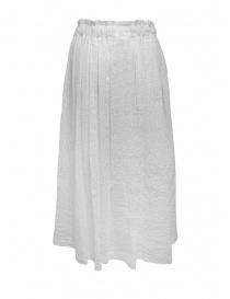 Plantation white crêpe effect skirt with drawstring price