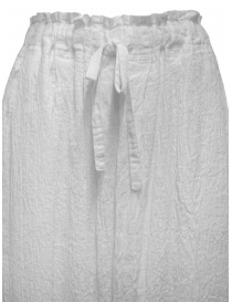 Plantation white crêpe effect skirt with drawstring womens skirts buy online