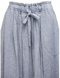 Plantation blue and white crêpe effect skirt womens skirts buy online