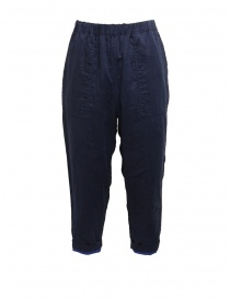 Plantation double-sided blue/navy blue pants online