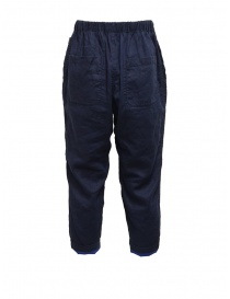 Plantation double-sided blue/navy blue pants