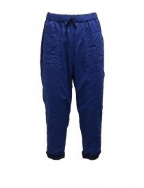 Plantation pantaloni double-face blu/blu navy prezzo