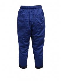 Plantation pantaloni double-face blu/blu navy pantaloni donna acquista online