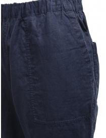 Plantation pantaloni double-face blu/blu navy pantaloni donna prezzo