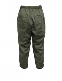 Plantation double-face green/blue pants