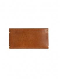 Feit portafoglio lungo in pelle marrone prezzo