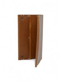 Feit portafoglio lungo in pelle marrone portafogli acquista online