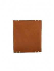 Feit portafoglio quadrato in pelle marrone prezzo