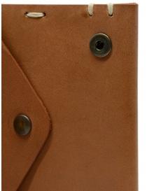 Feit portafoglio quadrato in pelle marrone portafogli prezzo