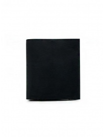 Wallets online: Feit square black leather wallet