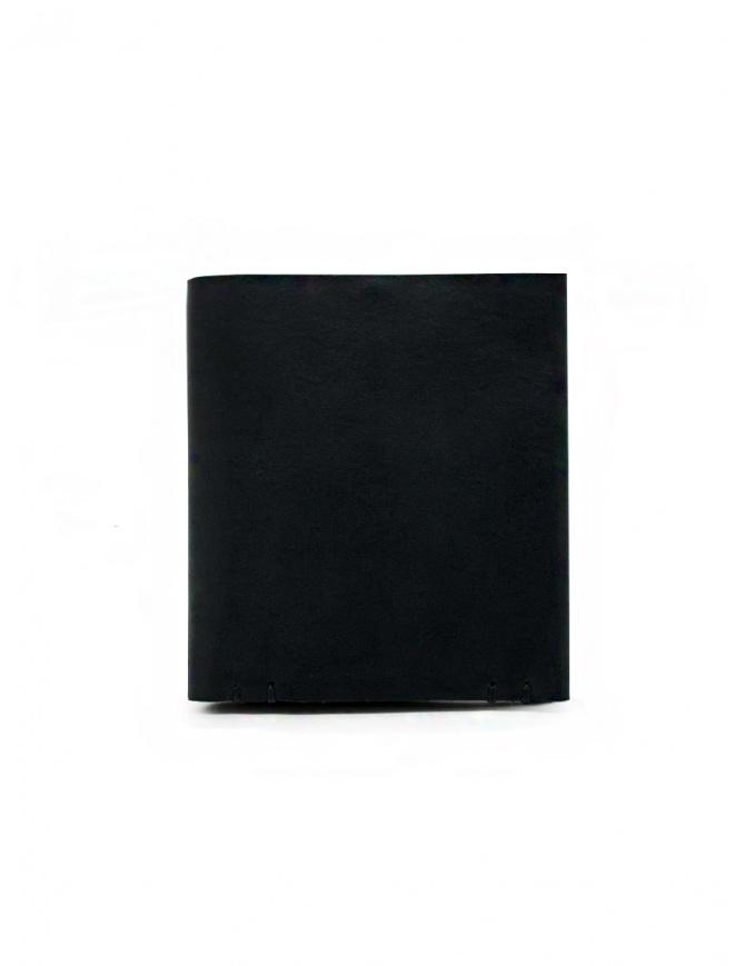 Feit portafoglio quadrato in pelle nero AUWTWSL BLACK H.S.SQUARE portafogli online shopping