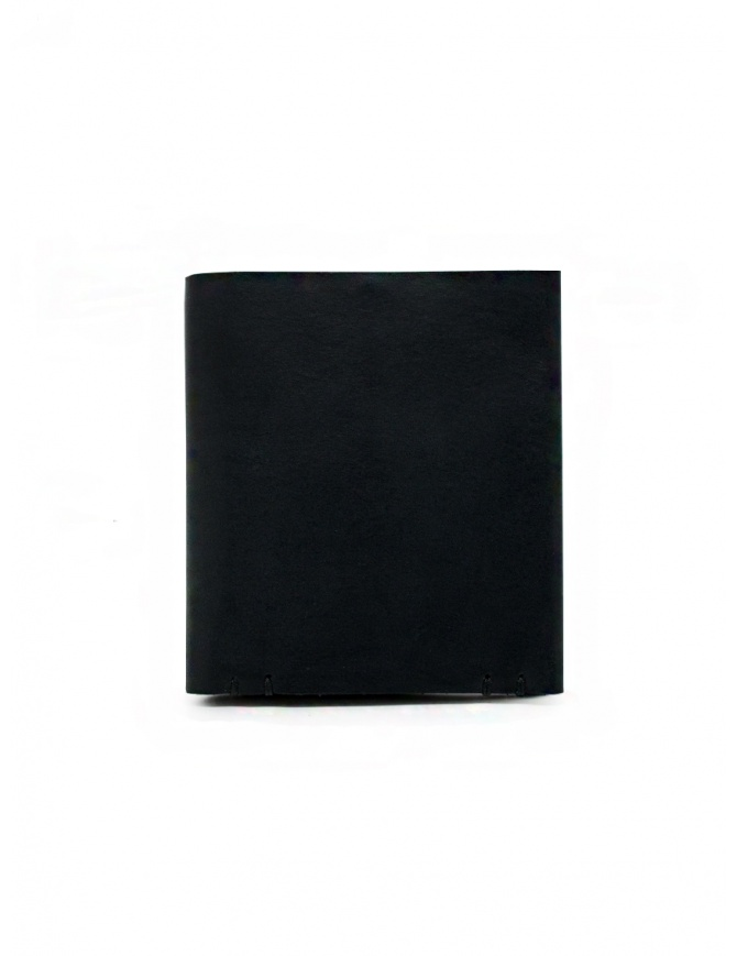 Feit square black leather wallet AUWTWSL BLACK H.S.SQUARE wallets online shopping