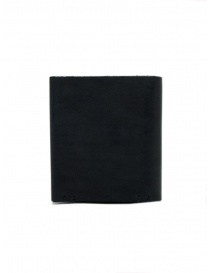 Feit square black leather wallet price