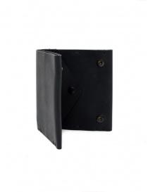 Feit portafoglio quadrato in pelle nero portafogli acquista online
