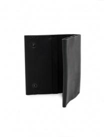 Feit portafoglio quadrato in pelle nero portafogli prezzo