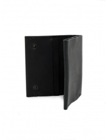 Feit square black leather wallet wallets price