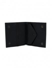Feit portafoglio quadrato in pelle nero