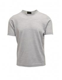 T shirt uomo online: Goes Botanical t-shirt grigio melange