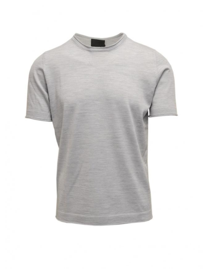Goes Botanical gray melange t-shirt 100 1250 GRIGIO MELANGE mens t shirts online shopping