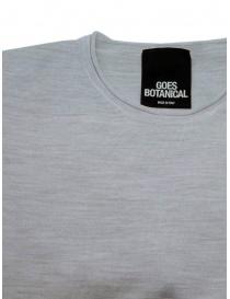 Goes Botanical t-shirt grigio melange prezzo