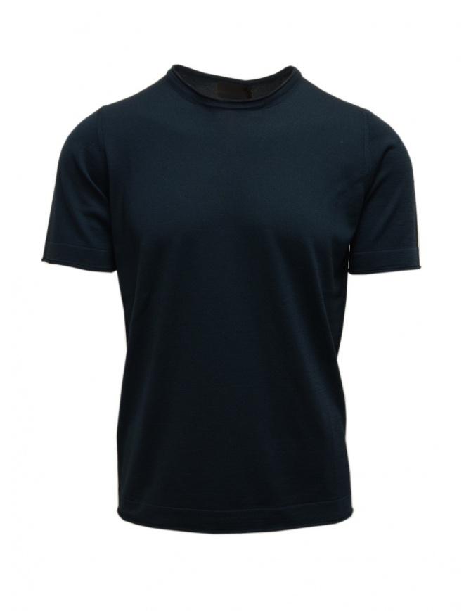 Goes Botanical petrol green t-shirt 100 4355 PETROLIO mens t shirts online shopping