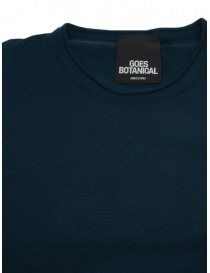 Goes Botanical t-shirt verde petrolio prezzo