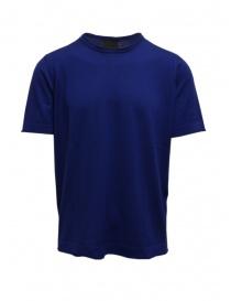 Goes Botanical t-shirt blu ottanio online