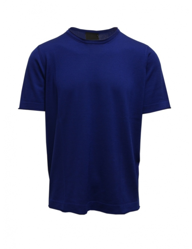 Goes Botanical teal blue t-shirt 100 3342 OTTANIO mens t shirts online shopping