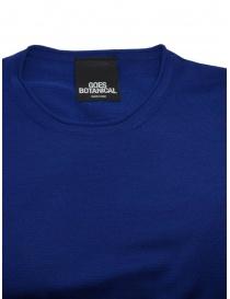 Goes Botanical teal blue t-shirt price