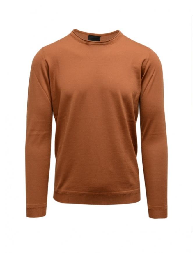 Goes Botanical maglia manica lunga color bronzo 101 5460 BRONZO maglieria uomo online shopping