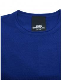 Goes Botanical maglia manica lunga blu ottanio prezzo