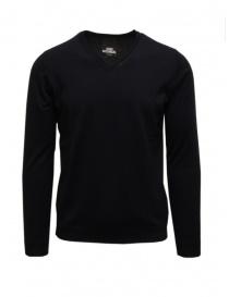 Blue Goes Botanical Sweater V Neckline 102 3343 BLU